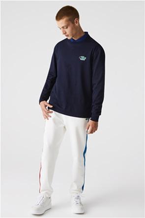 Lacoste ανδρική μπλούζα με κεντημένο λογότυπο Regular Fit