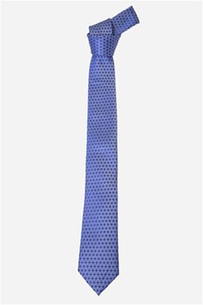 The Bostonians ανδρική γραβάτα με πουά μικροσχέδιο