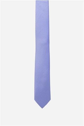 The Bostonians ανδρική γραβάτα με ριγέ μικροσχέδιο