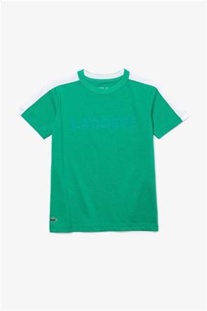 Lacoste παιδικό T-shirt με logo print (2-8 ετών)