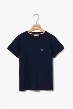Lacoste παιδικό T-shirt μονόχρωμο