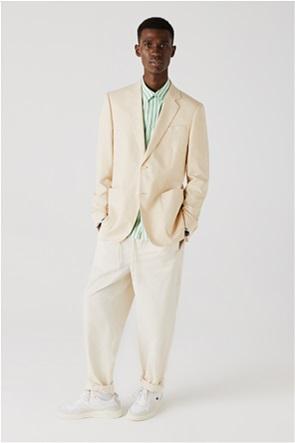 Lacoste ανδρικό σακάκι με τσέπες Slim Fit