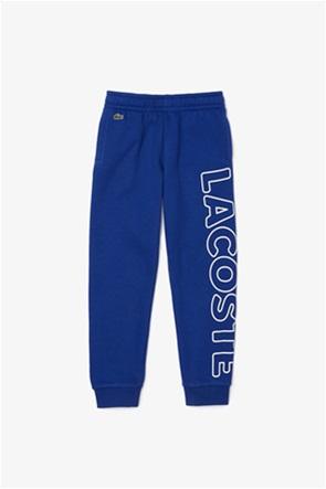 Lacoste παιδικο παντελόνι φόρμας με logo print (2-16 ετών)