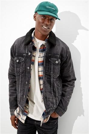 AE Sherpa Lined Denim Jacket