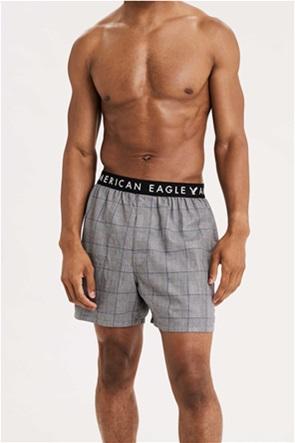 AEO Plaid Flannel Boxer Short