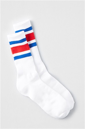 fa592e2acc5 AMERICAN EAGLE | AE Triple Stripe Sports Sock Λευκό | notos