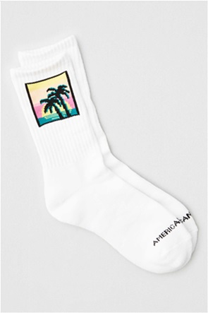 AEO Palm Tree Crew Sock