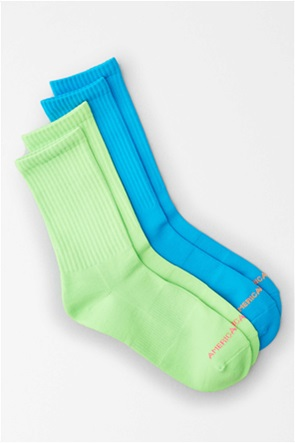 AEO Neon Crew Socks 2-Pack