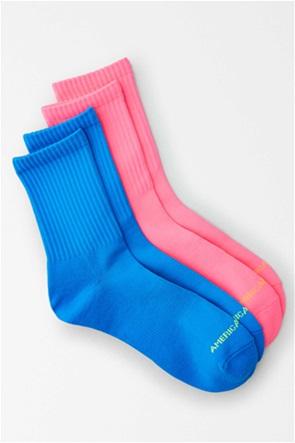 AEO Neon Mid Length Socks 2-Pack