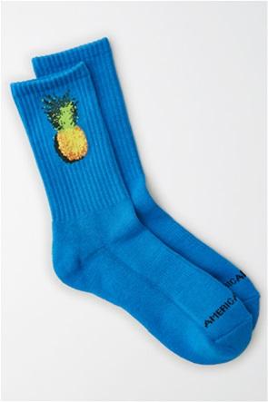AEO Pineapple Crew Sock
