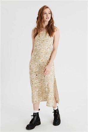 AE Printed Midi Slip Dress