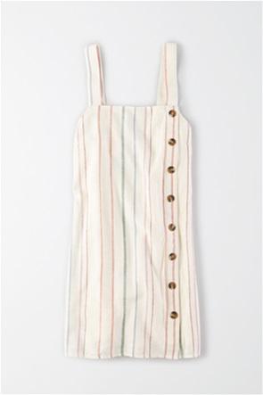 AE Button Side Slip Dress