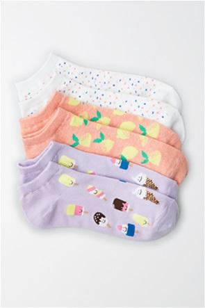 AE Foodie Ankle Socks 3-Pack
