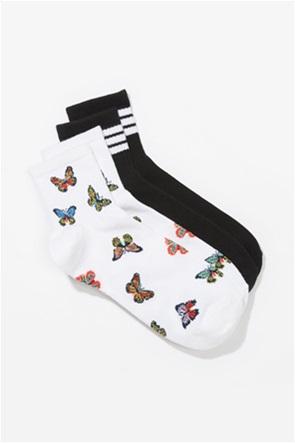 AE Butterfly Boyfriend Socks 2-Pack