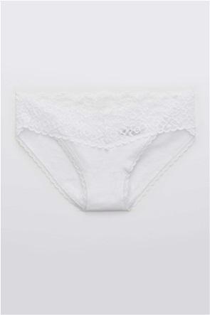 Aerie Cotton Eyelash Lace Bikini Underwear