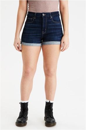 AE Ne(x)t Level Curvy Denim High-Waisted Short Short