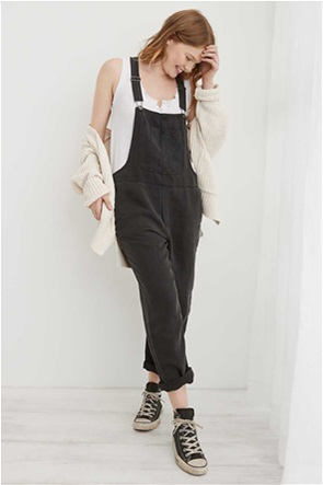 Aerie Twill Overall