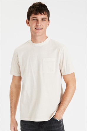 AE Vintage Wash Dye Effect Pocket T-Shirt
