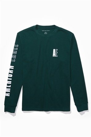 AE Long-Sleeve Graphic Thermal Shirt