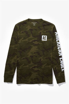 AE Long Sleeve Graphic Thermal