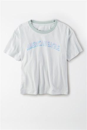 AE Striped Graphic T-Shirt
