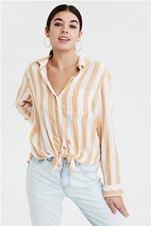 AE Striped Button Down Shirt