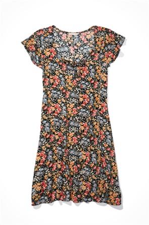 AE Button Up Mini Dress