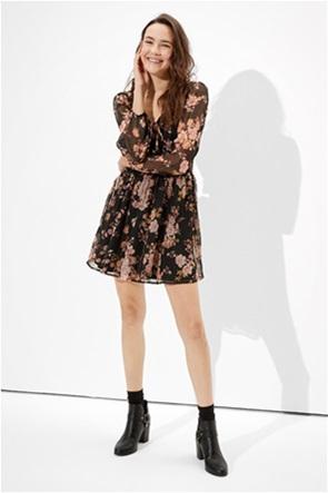 AE Smocked Waist Mini Dress