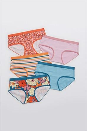 Aerie Cotton Elastic Boybrief Underwear 5-Pack