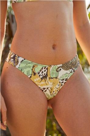 Aerie Printed Cheeky Bikini Bottom