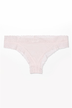 Aerie Sunnie Blossom Lace Thong Underwear