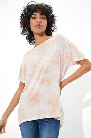 AE Soft & Sexy Tie-Dye Crew Neck T-Shirt