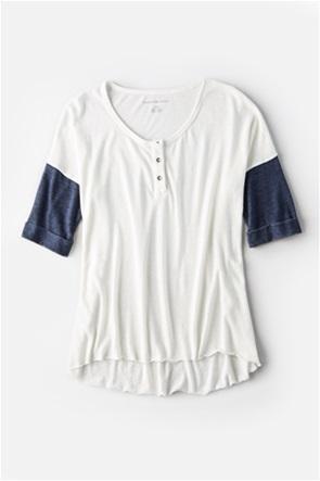 AE Burnout Henley T-Shirt