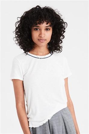 AE Soft & Sexy Trim Collar T-Shirt