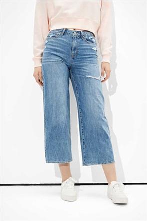 AE Ripped Wide Leg Crop Jean