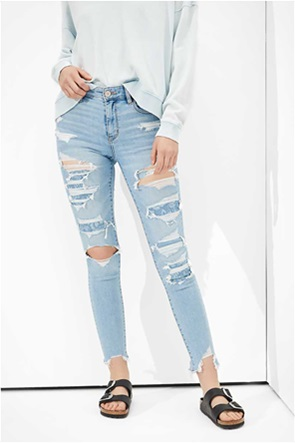 AE Ne(x)t Level Patched High-Waisted Jegging Crop