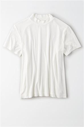 AE Mock Neck T-Shirt