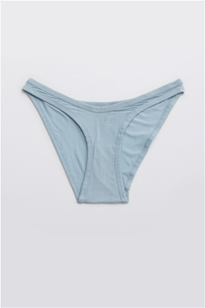 Aerie Modal Ribbed High Cut Bikini Underwear