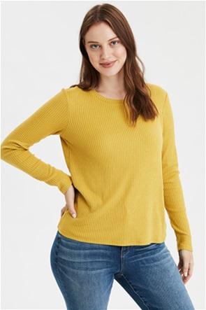 AE Soft Plush Ribbed Long Sleeve T-Shirt