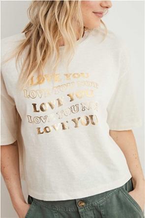 Aerie Boyfriend Cropped Oversized T-Shirt