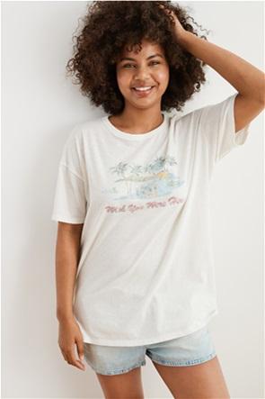 Aerie Graphic Boyfriend T-Shirt