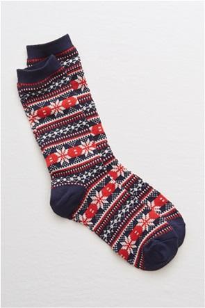 Aerie Fair Isle Crew Socks