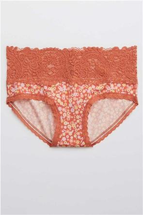 Aerie Shine Far Out Lace Boybrief Underwear