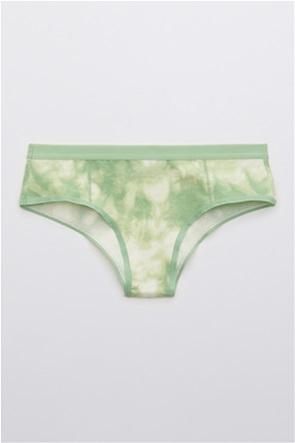 Aerie Cotton Elastic Printed Cheeky Underwear