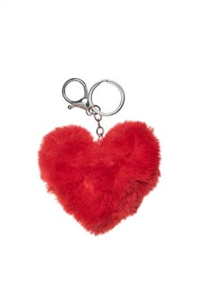 Alouette παιδικό μπρελόκ σε σχήμα καρδιάς