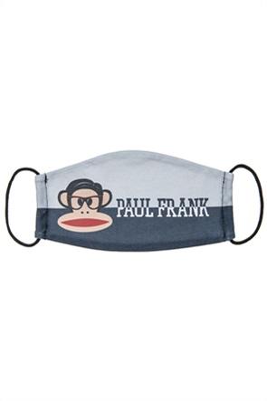 "Alouette παιδική υφασμάτινη μάσκα προστασίας colourblocked με print ""Paul Frank"" (7-16 ετών)"