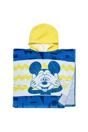 "Alouette βρεφικό πόντσο παραλίας ""Disney Miceky Mouse"" 50 x 100 cm"