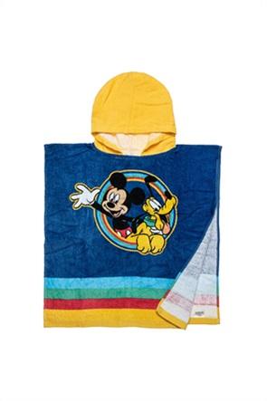 "Alouette βρεφικό πόντσο παραλίας με letter print στο πίσω μέρος ""Disney Mickey Mouse"" 50 x100 cm"