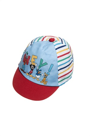"Alouette βρεφικό καπέλο jockey ριγέ  ""Disney Mickey Mouse"" (12-18 μηνών)"