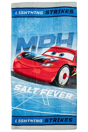 "Alouette παιδική πετσέτα θαλάσσης με print ""Disney Cars"" 70 x 140 cm"